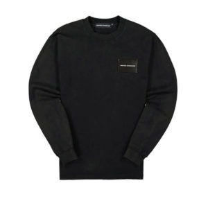 UNITED STANDARD Card Holder Acid LS Tee - Black