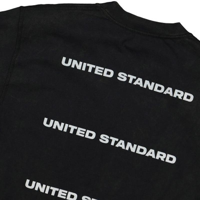 UNITED STANDARD Card Holder Acid LS Tee - Black