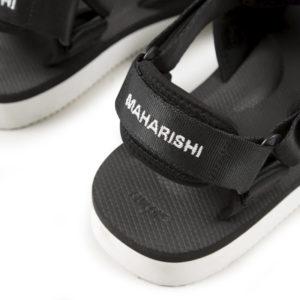 SUICOKE x MAHARISHI Sandalias Kuno-2 - Black