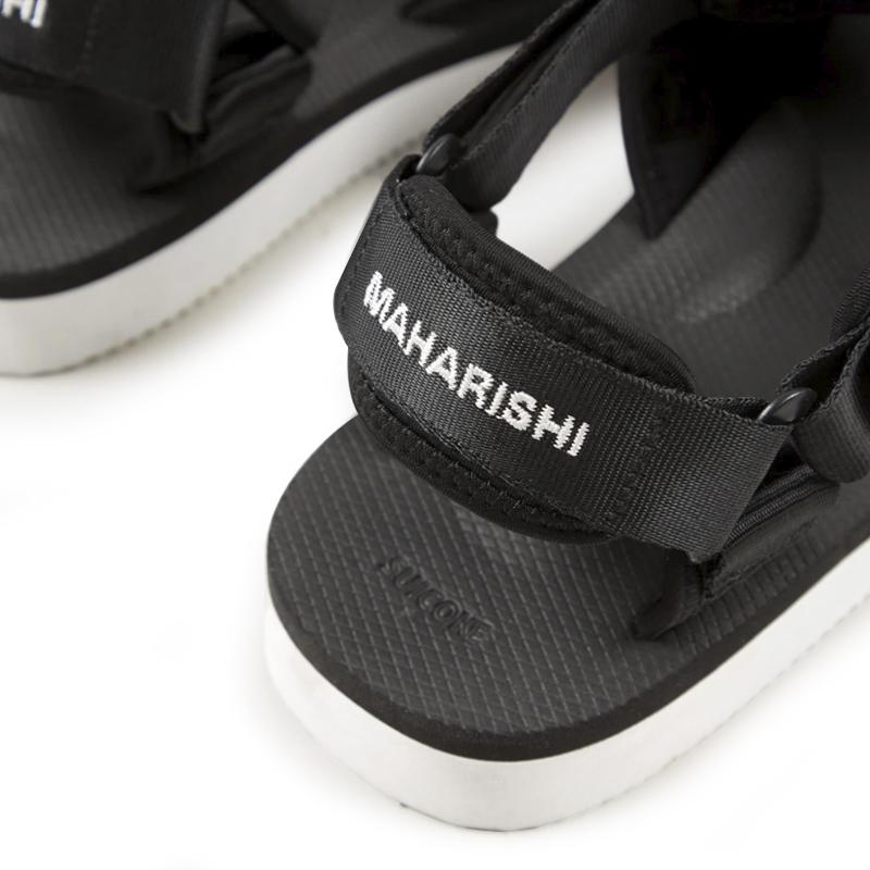 SUICOKE x MAHARISHI Kuno-2 Sandals - Black