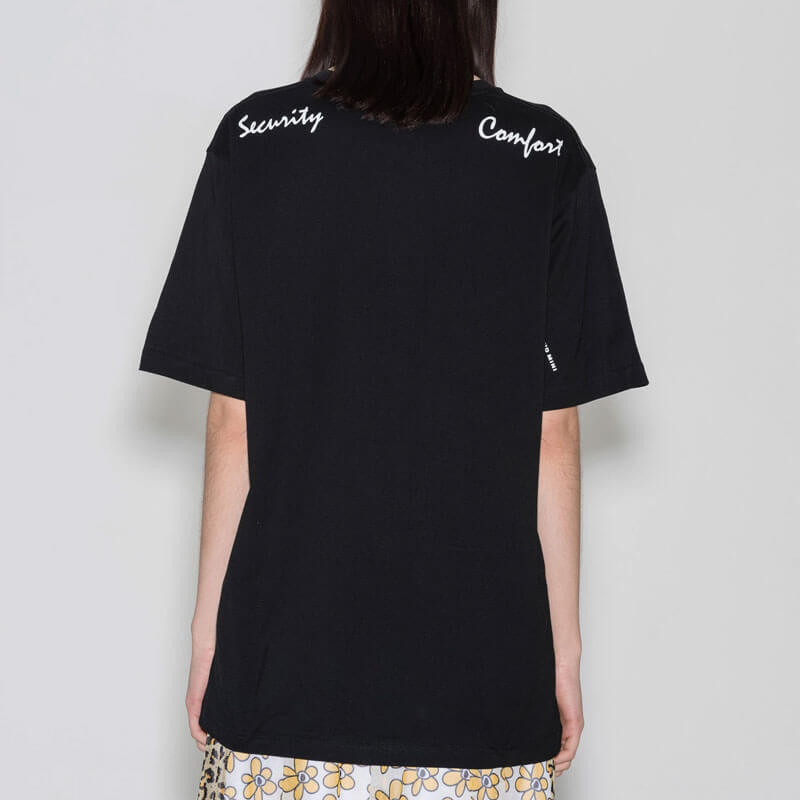 P.A.M. (Perks & Mini) Comfort and Security SS Tee - Black