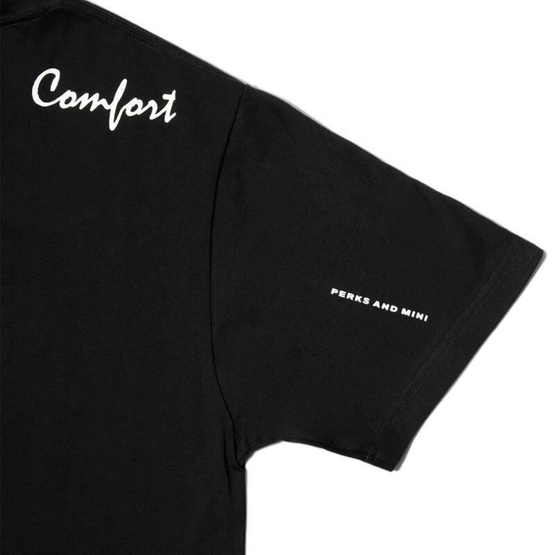 P.A.M. (Perks & Mini)Comfort and Security SS Tee - Black