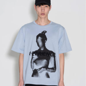 P.A.M. (Perks & Mini) Faceless SS Tee - Airy Blue