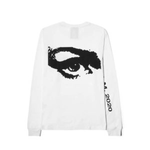 P.A.M. (Perks & Mini) Camiseta LS Private - Optical White