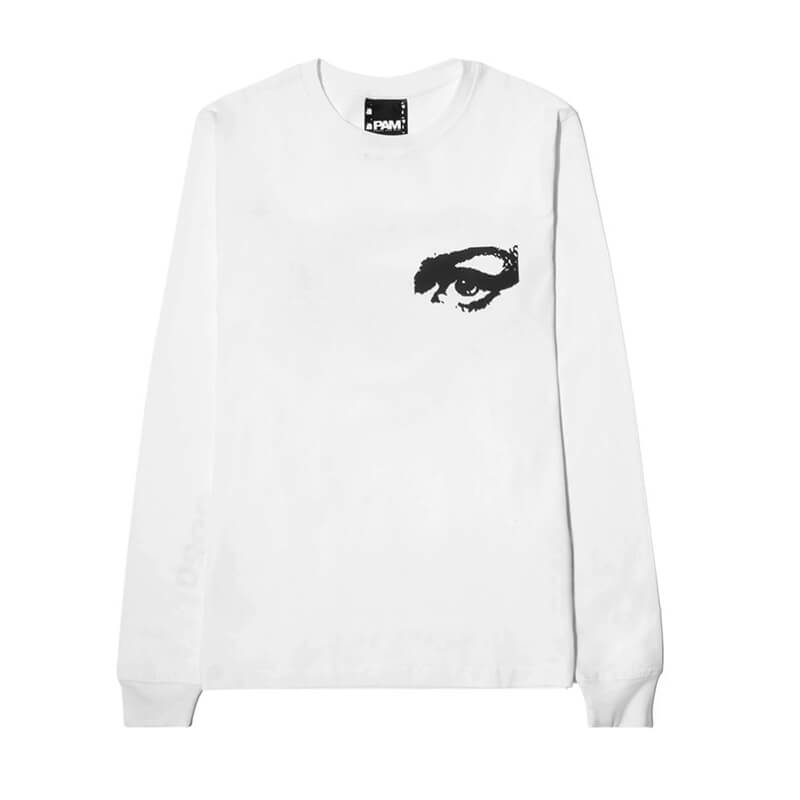 P.A.M. (Perks & Mini) Private LS Tee - Optical White