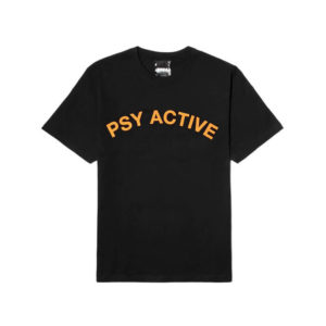 P.A.M. (Perks & Mini) X-Perience Psy Active SS Tee - Black