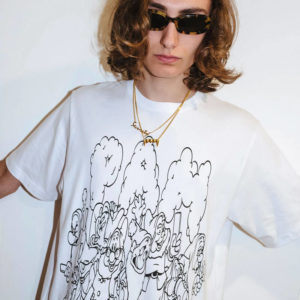 P.A.M. (Perks & Mini) Screen Time SS Tee - Optical White