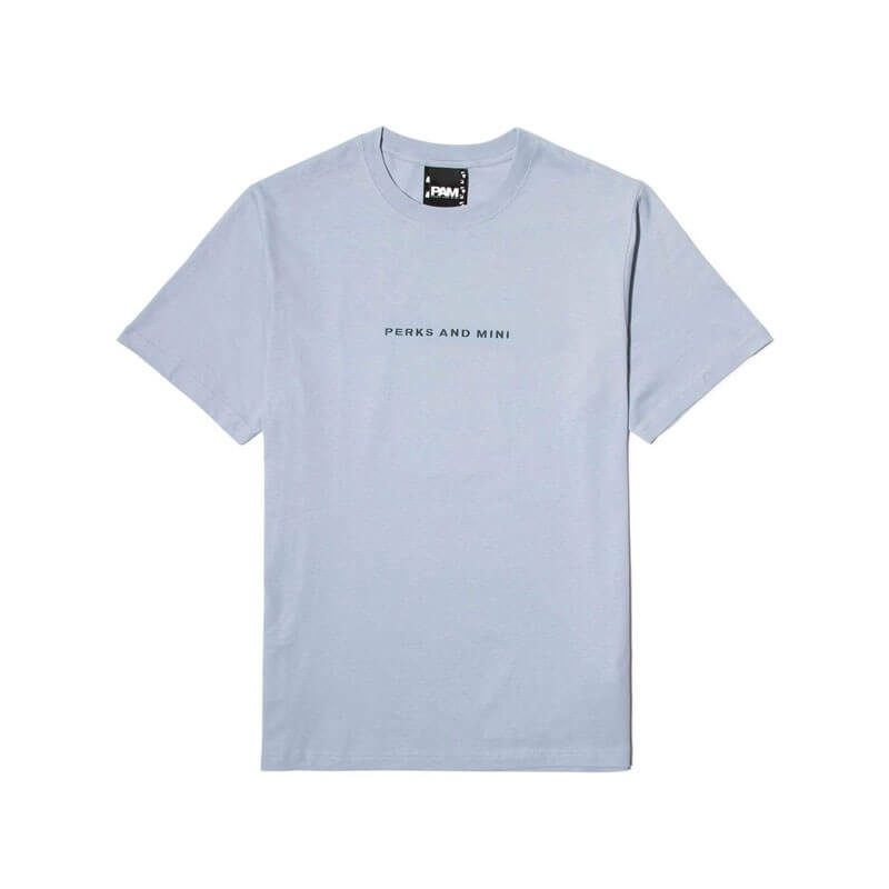 P.A.M. (Perks & Mini) Serving Sugestion SS Tee - Airy Blue