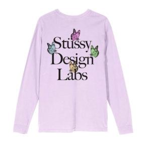 STÜSSY Design Labs LS Tee - Lavender