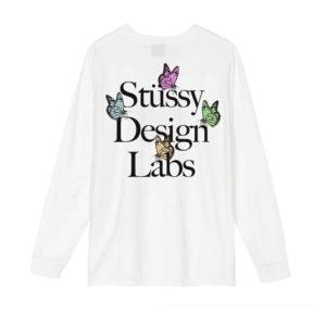STÜSSY Design Labs LS Tee - White