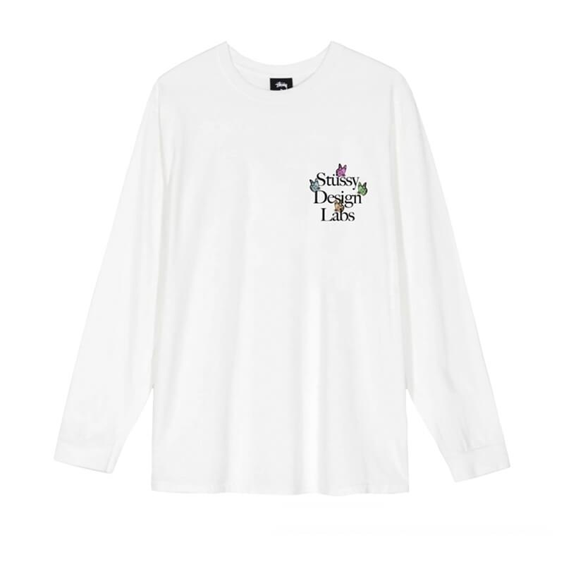 STÜSSY Camiseta LS Design Labs - Natural