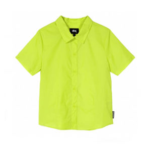STÜSSY Camisa Light Ripstop Women - Lime