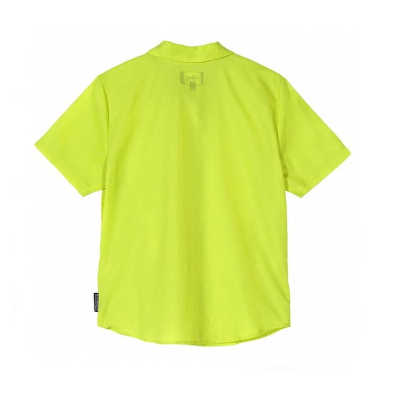 STÜSSY Camisa Light Ripstop Women - Lime