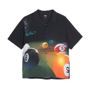 STÜSSY Camisa Pool Hall - Black