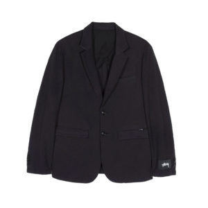 STÜSSY Seersucker Sport Coat - Black