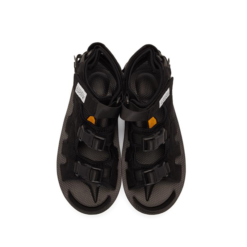 SUICOKE Boak-V Sandals - Black