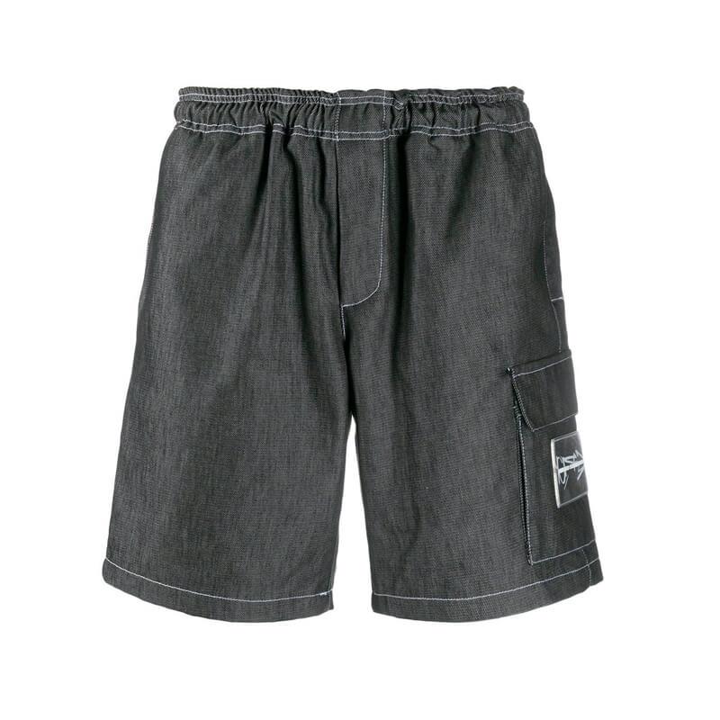 UNITED STANDARDGR10K Short Denim Pants - Denim - front