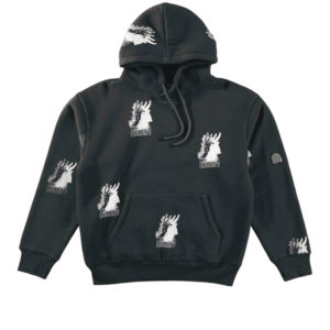 HERESY LONDON Beast Hood - Black