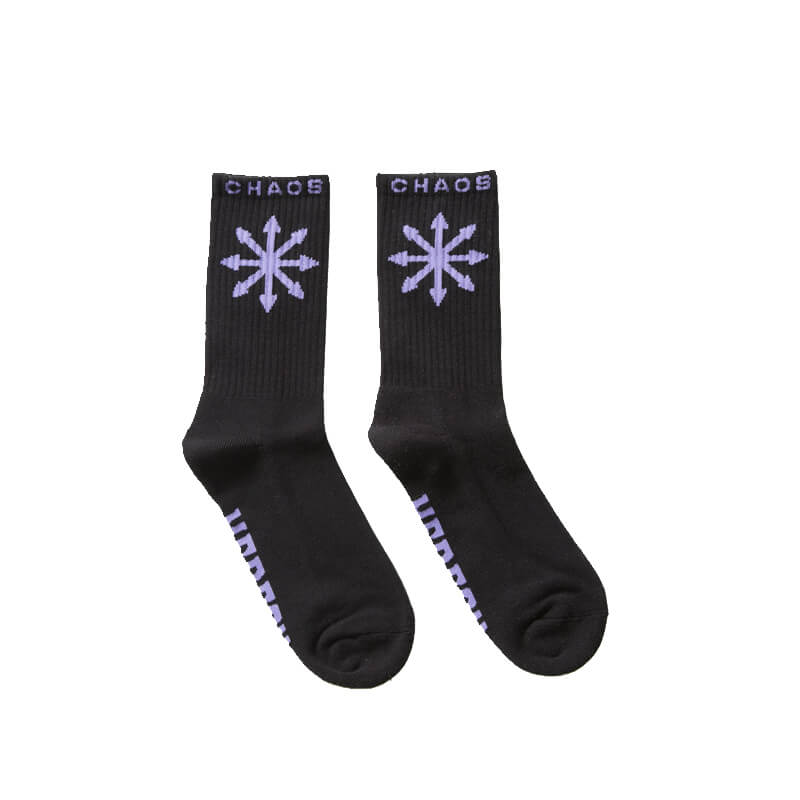 HERESY LONDON Chaos Socks - Black
