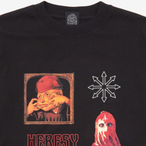 HERESY LONDON Cult LS Tee - Black