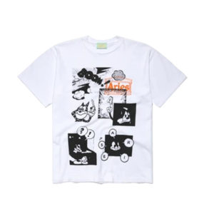 ARIES Comic Tee - White