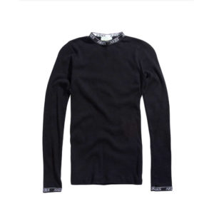 Aries Cotton LS Top - Black