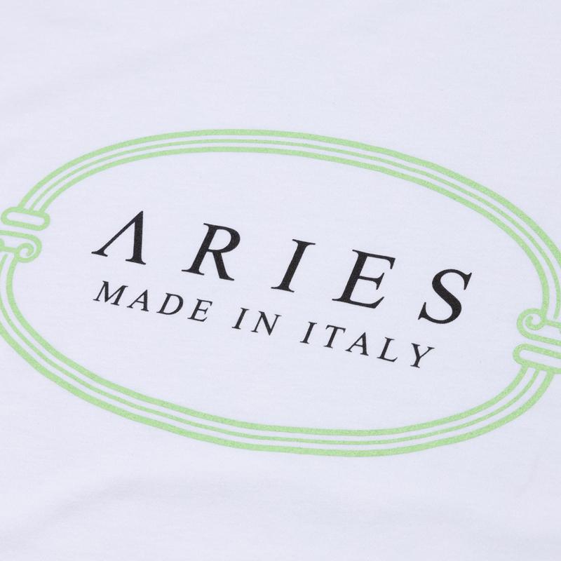 ARIES MIIT Tee - White