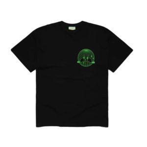 Aries Sad Planet Tee - Black