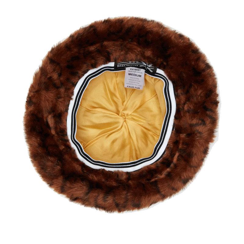 KANGOL Sombrero Casual Faux Fur - Leopard