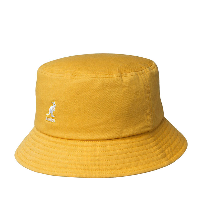KANGOL Sombrero Bucket Washed - Marigold