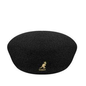 KANGOL Wool 504 Flat Cap - Black
