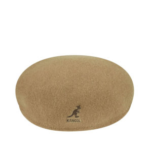 KANGOL Gorro 504 Flat Wool - Camel