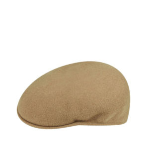 KANGOL Wool 504 Flat Cap - Camel