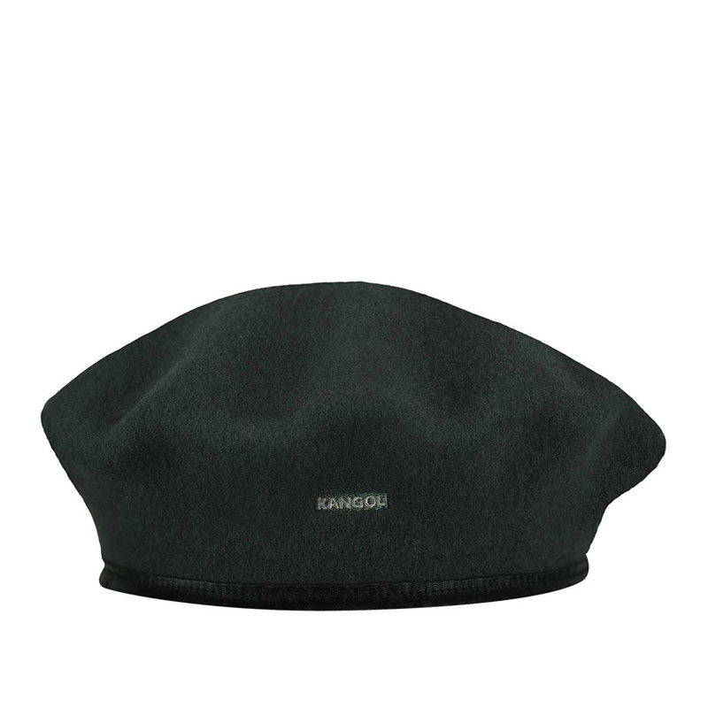 KANGOL Wool Monty Beret - Black