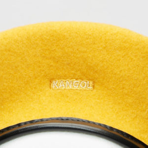 KANGOL Wool Monty Beret - Old Gold