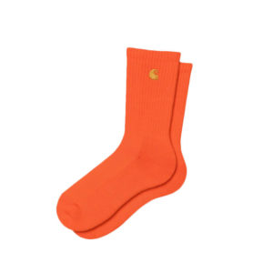 CARHARTT WIP Calcetines Chase - Safety Orange / Gold