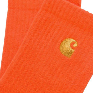 CARHARTT WIP Chase Socks - Safety Orange / Gold