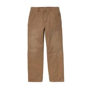 CARHARTT WIPPantalones Single Knee - Dusty H Brown