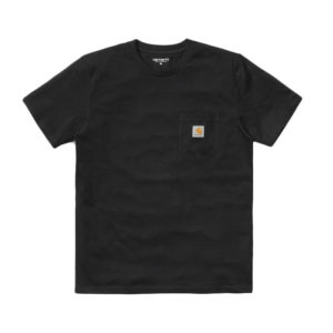 CARHARTT WIP Camiseta SS Pocket - Black