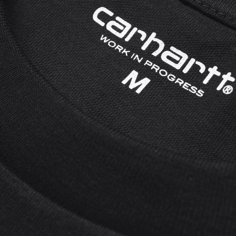 CARHARTT Pocket SS Tee – Black