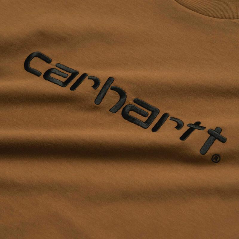 CARHARTT WIP Tricol Carhartt Tee – Hamilton Brown