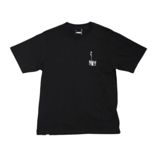 P.A.M. (Perks & Mini) Camiseta Bouquet SS - Black