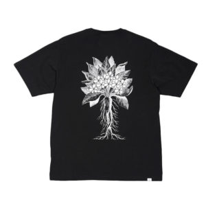 P.A.M. (Perks & Mini) Bouquet SS Tee – Black