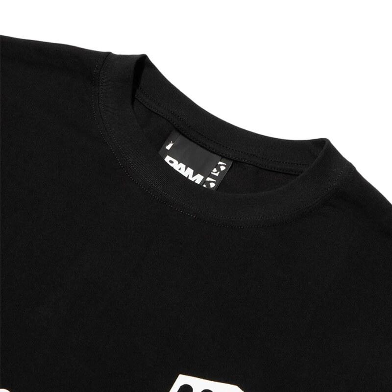 P.A.M. (Perks & Mini) Camiseta LS Deep Messages - Black
