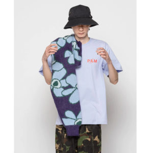 P.A.M. (Perks & Mini) Camiseta Ellipse SS - Grape Mist