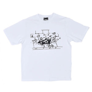 P.A.M. (Perks & Mini) Camiseta Rise Up SS - Optical White