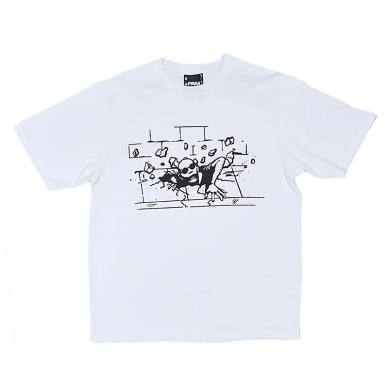 P.A.M. (Perks & Mini) Rise Up SS Tee – Optical White