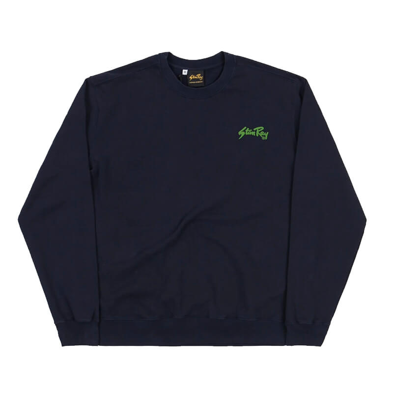 STAN RAY Camiseta LS Stan OG - Navy / Green