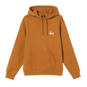 STÜSSY Basic Stüssy Hood - Caramel