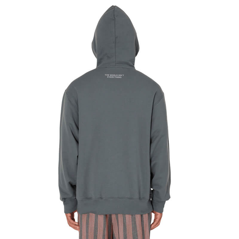 TELFAR Sudadera Hoodie Fuck That Bitch - Off Black